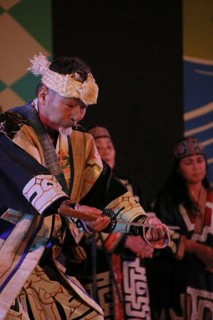 写真: アイヌ古式舞踊 郷土芸能大祭