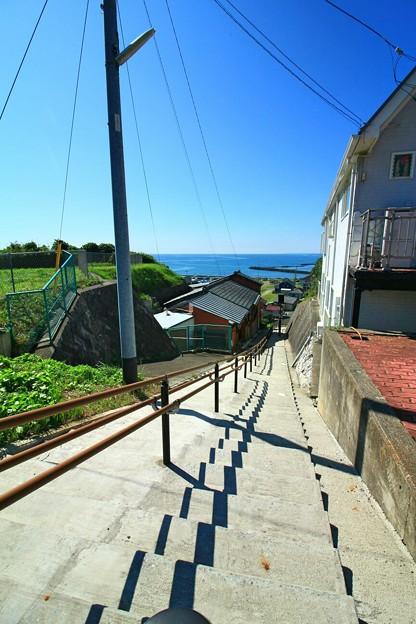 Photos: 573 かんしょの坂 会瀬漁港
