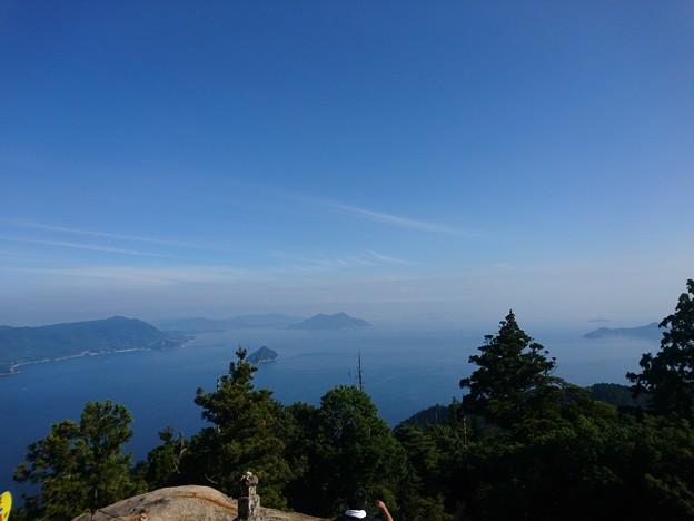 Photos: 彌山山頂