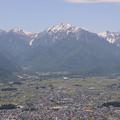 6月の蓮華岳