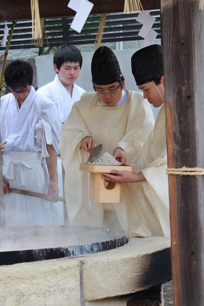 26.7.6御釜神社藻塩焼神事