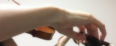 中野・江古田 バイオリン 個人レッスン ヴィオラ 吉瀬弥恵子 Y's音楽教室 右手首の角度