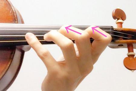 左手の形7 東京・中野・練馬・江古田、ヴァイオリン・ヴィオラ・音楽教室