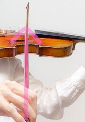 アップボウの弓先から弾く2 東京・中野・練馬・江古田、ヴァイオリン・ヴィオラ・音楽教室