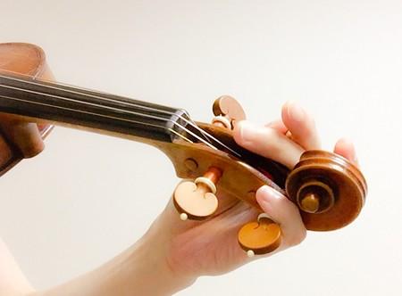東京・中野・練馬・江古田、ヴァイオリン・ヴィオラ・音楽教室<br /> 調弦する順番