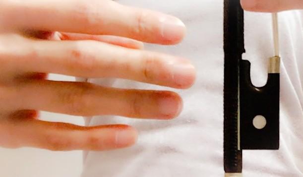 弓の上で小指を丸く2 東京・中野・練馬・江古田、ヴァイオリン・ヴィオラ・音楽教室