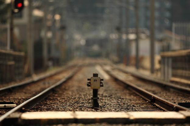 線路はどこまでも続いているのでしょうか?