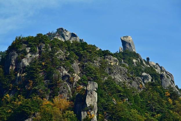 林立する奇岩たち