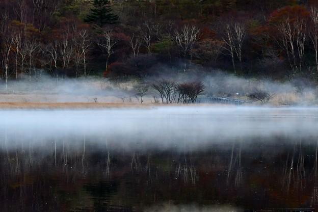 写真: 夕霧