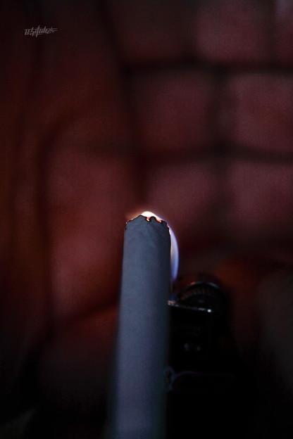 【第124回モノコン】煙草に火をつけて