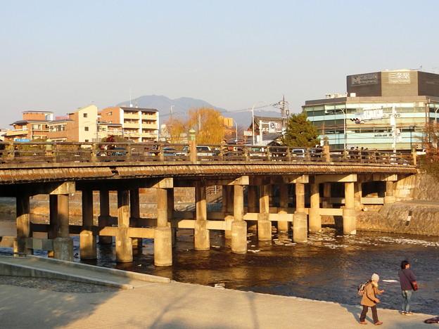 三条大橋 木製欄干
