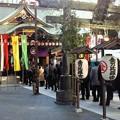 Photos: 今年の虎ノ門金比羅さん。いつもよりたくさんの人が並んでます。