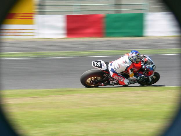 写真: 12 2014 Honda Team Asia ジョシュ ホック CBR1000RR ザムリ ババ 鈴鹿8耐 ディマス エッキー プラタマ SUZUKA8HOURS P1340755