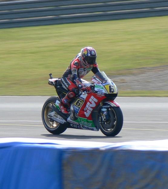 写真: 40 2014 Motogp もてぎ motegi ステファン・ブラドル Stefan BRADL LCR Honda