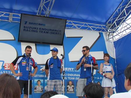42 2014 鈴鹿8耐 スズキ エンデュランス アンソニー デラール エルワン ニゴン ダミアン カドリン