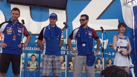43 2014 鈴鹿8耐 スズキ エンデュランス アンソニー デラール エルワン ニゴン ダミアン カドリン 5