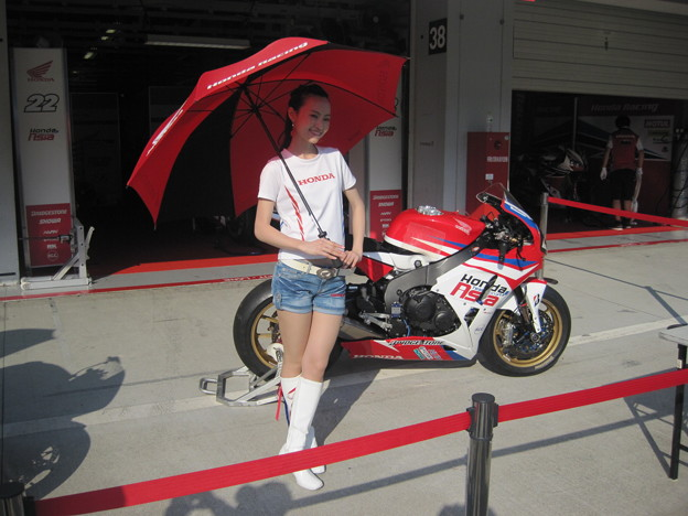 写真: 505 2014 Honda Team Asia ジョシュ ホック CBR1000RR ザムリ ババ 鈴鹿8耐 ディマス エッキー プラタマ SUZUKA8HOURS