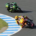 Photos: 65 2014 motogp motegi アレックス エスパルガロ Aleix ESPARGARO NGM Forward Yamaha IMG_3171