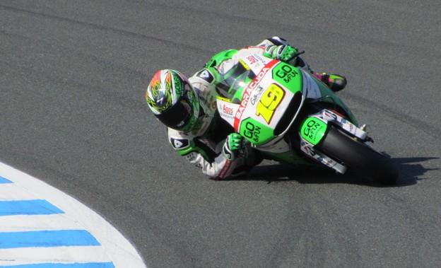 写真: 2014 motogp motegi もてぎ アルバロ バウティスタ Alvaro BAUTISTA Honda Gresini  2