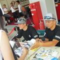 Photos: 2014 鈴鹿8耐 Honda DREAM RT SAKURAI ジェイミー スタファー トロイ ハーフォス 亀谷長純 CBR1000RRSP 30