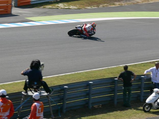 写真: 2014 motogp motegi もてぎ ヨニー エルナンデス Yonny HERNANDEZ Pramac Ducati ドゥカティ 0319