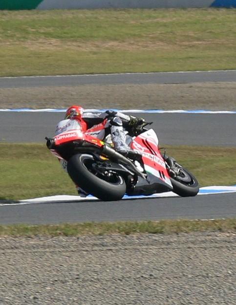 Photos: 2014 motogp motegi もてぎ ヨニー エルナンデス Yonny HERNANDEZ Pramac Ducati ドゥカティ 741
