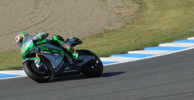 写真: 2014 motogp もてぎ ニッキー・ヘイデン Nicky・HAYDEN Drive M7 Aspar Honda RCV1000R オープンクラス 065