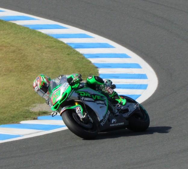 写真: 2014 motogp もてぎ ニッキー・ヘイデン Nicky・HAYDEN Drive M7 Aspar Honda RCV1000R オープンクラス 082