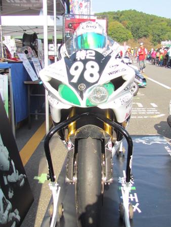 2014 鈴鹿8耐 YAMAHA YZF-R1 藤田拓哉 ダン・クルーガー 及川誠人 パトレイバー ドッグファイトレーシング 641