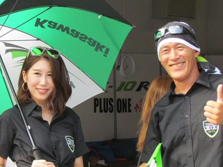 2014 鈴鹿8耐 KAWASAKI ZX-10R 刈田庄平 塚本昭一 山下繁 K-TEC Team38 PS-K 430