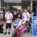 写真: 2014 鈴鹿8耐 SUZUKA8HOURS Honda 熊本レーシング 吉田光弘 小島一浩 徳留和樹 CBR1000RR 144