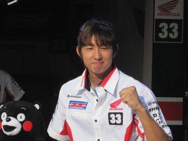 写真: 2014 鈴鹿8耐 SUZUKA8HOURS Honda 熊本レーシング 吉田光弘 小島一浩 徳留和樹 CBR1000RR 476