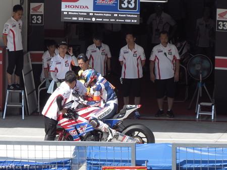 2014 鈴鹿8耐 SUZUKA8HOURS Honda 熊本レーシング 吉田光弘 小島一浩 徳留和樹 CBR1000RR 894
