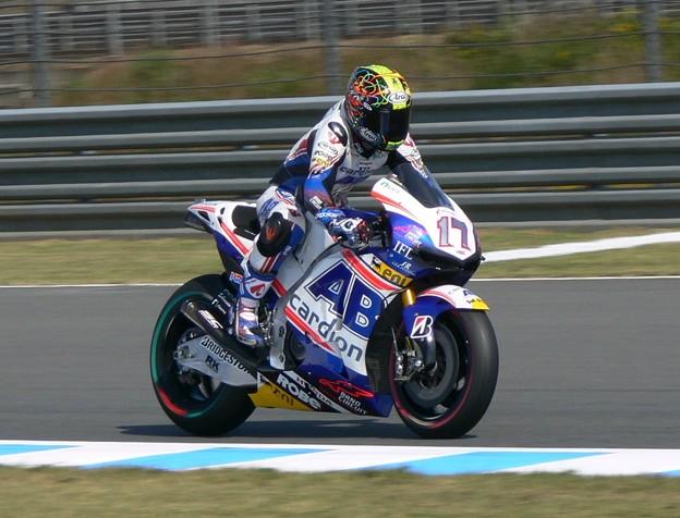 写真: 2014 motogp もてぎ motegi カレル・アブラハム HONDA RCV1000R 4