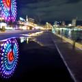 写真: 神戸高浜岸壁夜景