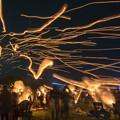 写真: 火祭り