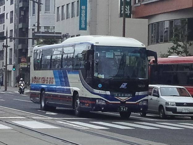 【12262号】バスと路面電車 平成290724 #NTS1