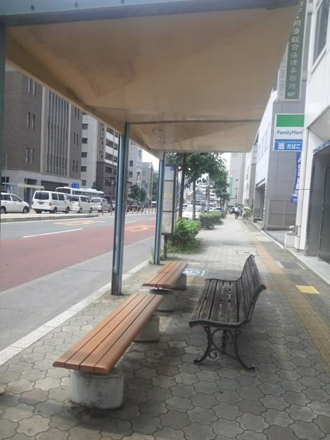 【12281号】Mii合成素材:バス停 平成290727
