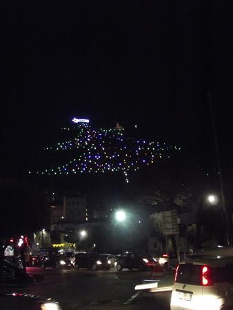 グッビオ・クリスマスツリー0122