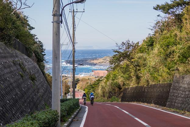 三宅島ライド----海沿いサイクリング